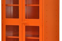Industrial Lockers / DeBourgh's industrial storage products provide unmatched performance for your heavy duty storage needs.