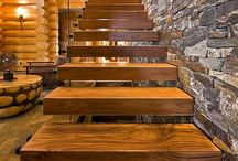 Railing and Staircase Beauty / Utility and beauty!