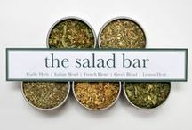 Creative Salad Bar Ideas / Salad bars are a quick, easy and tasty way to meet your nutritional goals for the day.