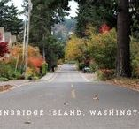Beautiful Bainbridge Island / Just a 8 miles and a scenic ferry ride from downtown Seattle, Bainbridge Island combines a rural character with an active arts scene, one of a kind restaurants and shops, and a laid-back lifestyle.