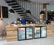 Restaurant Interiors / Get inspired to redo your space by checking out these cool restaurant's style, colors and decor.