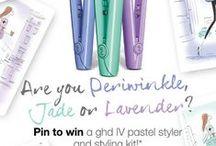 Periwinkle & Jade / Hair Styles, Hair Color, Styling Tips