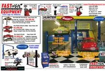 Auto Repair Shop Equipment at FAST / All the automotive equipment you need to start a business, we carry it all new and used.