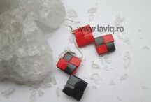 Candy wrapper earings by LaviQ  ( cercei eco ) / Daca iubesti cerceii LaviQ, anul acesta alege unul cu print si forma indrazneata, realizati cu decupaje de revista, rezistenti la umezeala, lucrati manual, potriviti pentru tinutele tale, pe care le ai in garderoba www.laviq.ro www.facebook.com/pages/LaviQ/206808016028814