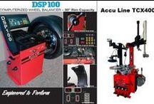 Tire Changers & Wheel Balancers / Hunter & Accu-Line Tire Equipment Professional Level Machines