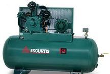 Air Compressors made in USA / Curtis Air Compressors tough cast iron designs made in the USA!