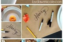 Ultimate Thanksgiving Ideas / Thanksgiving ideas from serving buffets, decorating ideas, recipes, tips and tricks to make your holiday wonderful!
