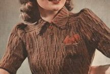 Vintage Knitting and Crochet Patterns @ Interbellum / Free vintage knitting and crochet patterns from my blog and for sale in my shop