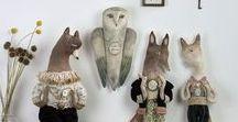 Art Dolls and Textile Art / Art Dolls OOAK & Textile Art