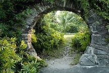 Pathways, Patios & Gates / by Beanie Bonjimer