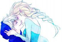 Jack Frost & Elza Frozen