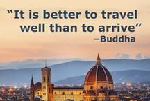 #BetterTogether & Travel Quotes / Traveling is fun, but traveling with a group is even better! HotelPlanner.com prides itself on the ability to bring people together while finding the lowest rates on group hotel reservations. / by HotelPlanner
