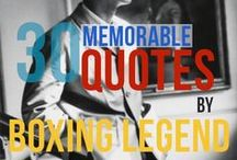 Muhammad Ali Quotes / muhammad ali- a true boxing legend