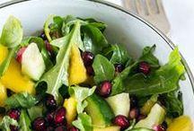 Salate / Es gibt so viele tolle Salat-Variationen mit diversesten Zutaten - das ist auf jeden Fall eine Pinnwand wert!