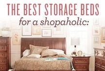 Storage Solutions (Got Too Much!) / If you need more space, look no further!  I've found the best ideas to help you save space and still be fabulous. / by Value City Furniture