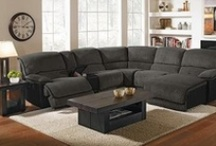 Sectional Healing / When I get that feeling I need, sectional healing...our fave sectionals! / by Value City Furniture
