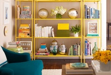 storage and shelving / I want shelves in the kitchen full of lovely jars and pots and I want shelves in the sitting room full of books and pictures