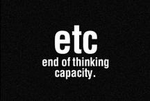 etc.  / by Madalyn Beckham