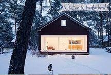 I Love! Winter Cabins