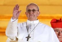 Catholic ~ Pope Francis / by Christina Lamb