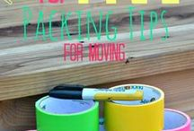 House moving / Moving house is never fun!  Moving into a new house is a whole different story!