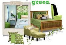 Go Green! / Green isn't just for St. Patty's day - it's easy to use in your home all year long! Here are some of our favorite green pieces and decor ideas. / by Value City Furniture