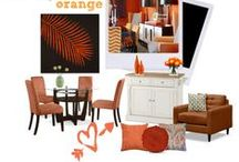 Orange You Perfect! / This bright and vibrant orange is our Pantone pick for the month! / by Value City Furniture