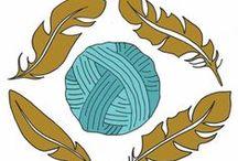 Boho Chic Fiber Co. / Funky Beautiful Hand Spun Yarn and Fiber www.BohoChicFiberCo.etsy.com