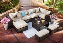 Outdoor Livin' / Your patio can be used for family time, fun with friends or even a romantic retreat. No matter what your style, it's easy to transform your patio into the perfect outdoor entertaining spot! / by Value City Furniture