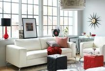 White Noise / Bright whites are in this summer...and not just in fashion! Bring the trend inside to add a sophisticated, sleek look to your home. / by Value City Furniture