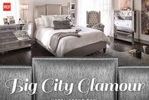 Hotel Front Row: Big City Glamour / FASHIONABLE AND FUNCTIONAL STYLE. A collection made for those who know true style never sleeps, the gorgeous pieces of the Big City Glamour look are so sleek and chic, they'll never go out of fashion. / by Value City Furniture