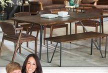 Boho - Magnolia Home / From the mind of Joanna Gaines... Is a seamless blend of eclectic and vintage styles, with Victorian Bistro and Mid-Century Modern elements. It's fun and playful; because the eclectic feel allows you to throw the design rules right out the window. Boho is an unexpected play on texture, color, and shape.