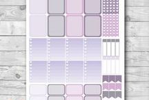 Printable Planning Supplies / Buy your printable planning supplies