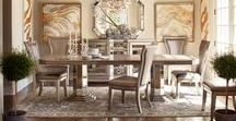 Dare to Dine / Find everything from formal dining room sets for your next dinner party to the perfect dinette for a lazy Sunday morning with our huge selection of dining room furniture available in tons of great styles and sizes.