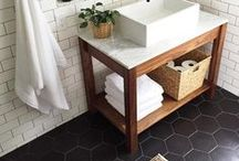 Bathroom Ideas / Sleek and shine bathroom inspiration