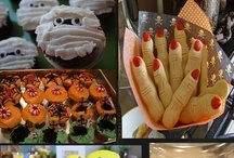 Halloween Food & Drink / Freakily delicious is the best way to describe some of these cool Halloween food and drink ideas.   #halloween #food #drink