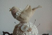 in stitches / sewing projects, fabric art / by Ruth Williams