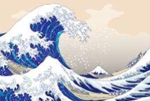 wave tattoo idea /