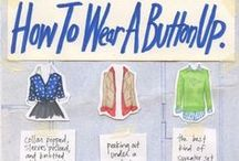 Clothes combinations / How to wear/combine clothes