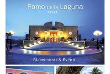 Parco della laguna / Una struttura ricettiva sita ai piedi del Gargano che con stile, originalità e eleganza personalizza ogni tipo di evento.