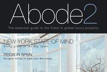 Abode2 Covers / Covers of Abode2 Luxury Property Magazine!