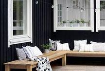 Summer Decor / Summer homes, and summer home decor.