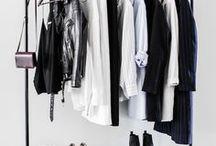 Closet / Beautiful closets, organized closets, minimalist closets, and walk-in closet inspiration.
