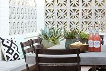 Exterior / Home and exterior design and decor inspiration.