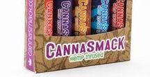 CannaSmack Hemp Lip Balms / CannaSmack line of Hemp lip balms including All Natural, SPF 15, and Vegan
