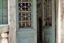 Doors and knockers / Doors and door knockers