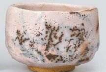 Ceramics / Ceramics, Japanese Chawan and Raku art woks.