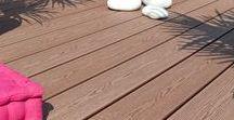 Neowood houtcomposiet terrasplanken / Met Neowood heeft u een vloer met een natuurlijke houtlook, zonder knoesten of splinters, die onderhoudsvriendelijk is, anti-slip en blijvend mooi. Neowood bestaat grotendeels uit hout en is een houtcomposiet van topkwaliteit. Met zijn combinatie van 65% zaagmeel en 35% polyetheen en vooral omwille van het feit dat het vervaardigd is van gereconstitueerde vezels voor meer duurzaamheid, heeft dit uitzonderlijke materiaal geen equivalent in Europa.