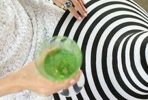 Green + White + Black / http://www.judithdcollins.com/