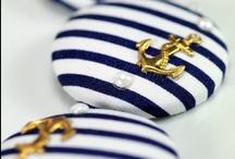 Navy + Gold / http://www.judithdcollins.com/
